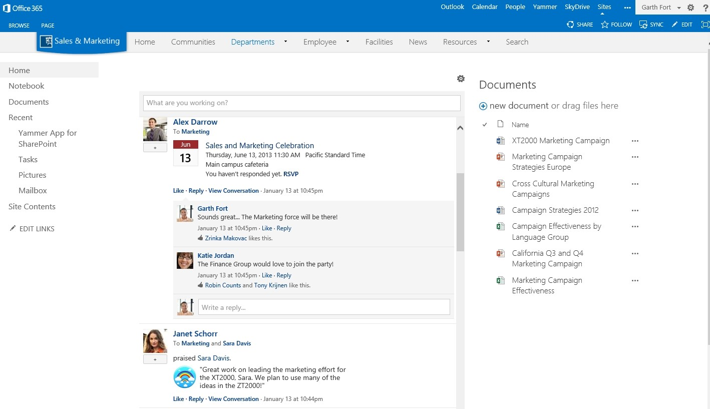 Update to the latest Yammer App for SharePoint - Microsoft 365 Blog