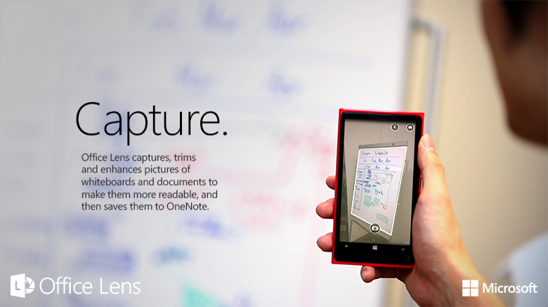 A OneNote scanner for your pocket - Microsoft 365 Blog
