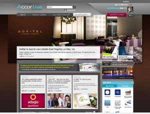 picture of AccorLive portal