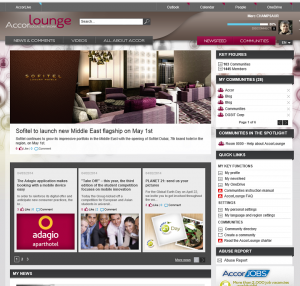 picture of AccorLounge Portal
