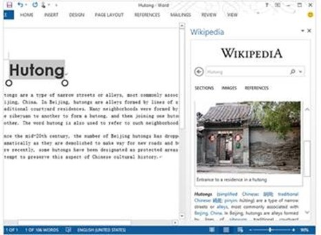 Microsoft open-sourced the Wikipedia App for Office on GitHub.