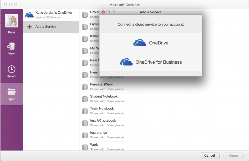 Mac - OneDrive for Business