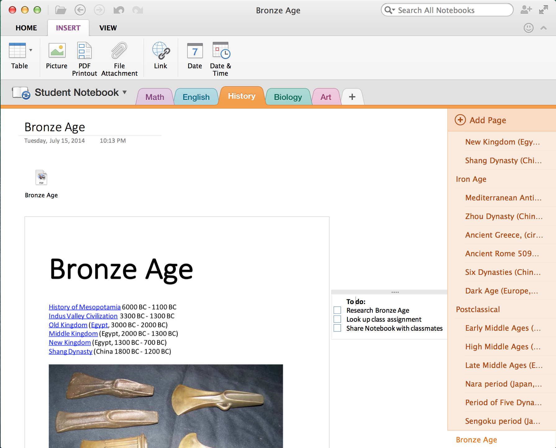 how to open a onepkg file in onenote online
