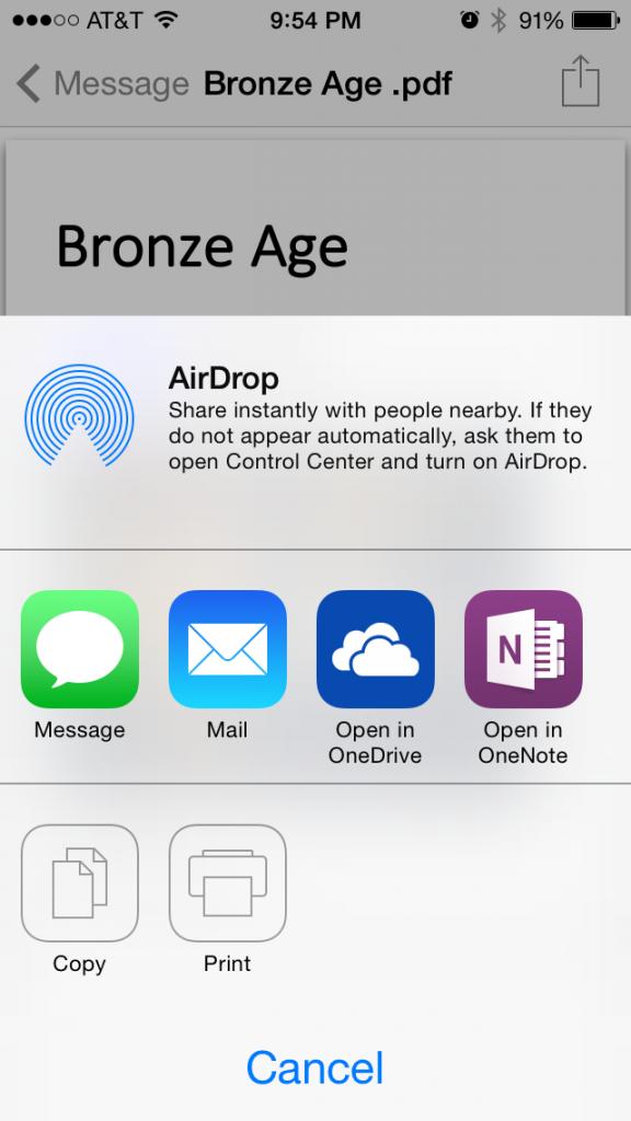 iPhone Insert File