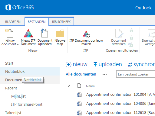 Aia's ITP for SharePoint Standard app