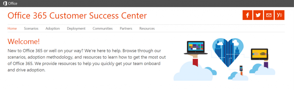 Office 365 Customer Support Center