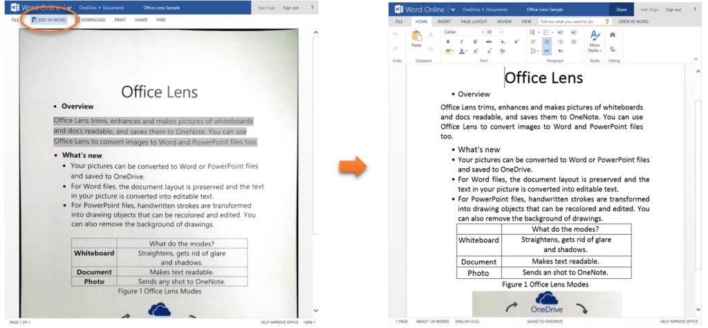 Office Online updates 5