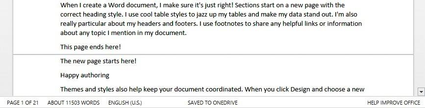 Office Online updates 6