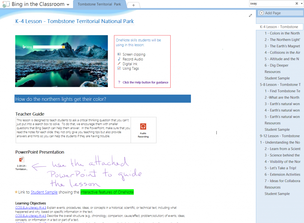 OneNote for teachers 1
