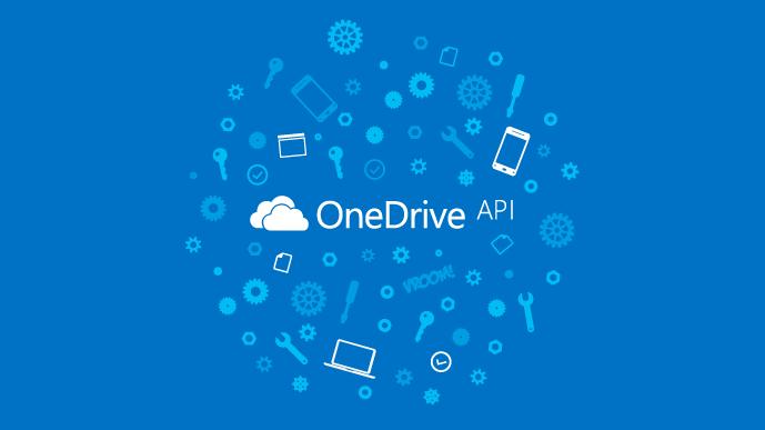 OneDrive API launch blog post banner