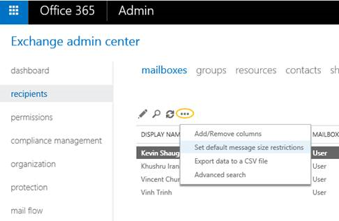 Office 365 now supports larger email messages 1 v2