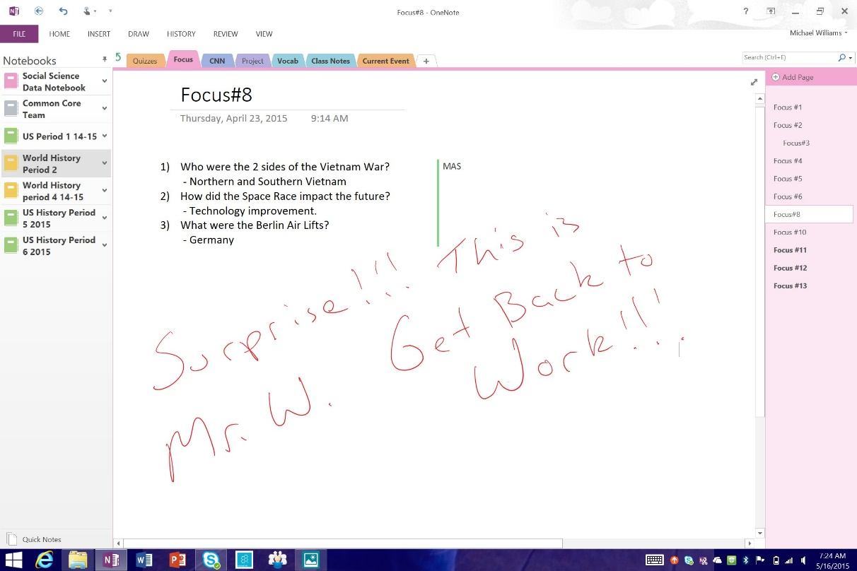 How OneNote can evolve education 2