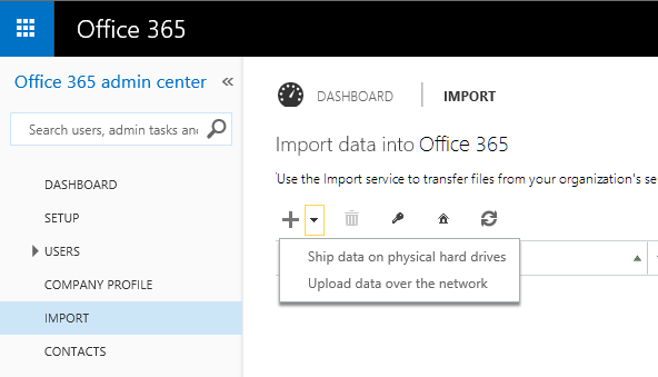 Making email archive migration easier with the Office 365 Import Service 1