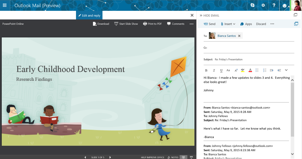 New ways to get more done in Outlook.com 2