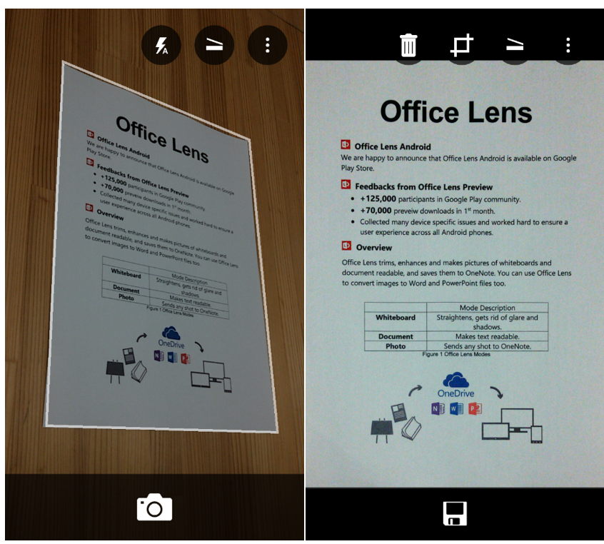 Office Lens Android now available at Google Play Store 1