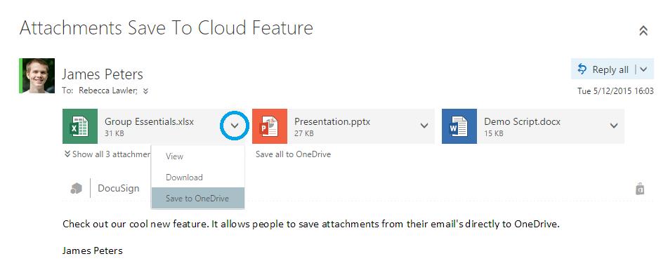 Outlook Web App OneDrive for Business just got better 2