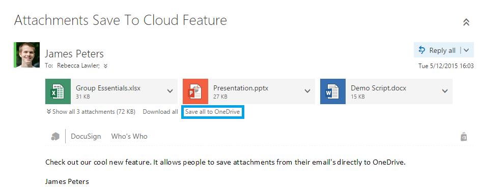 Outlook Web App OneDrive for Business just got better 3