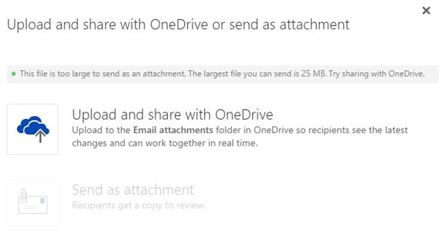 Outlook Web App OneDrive for Business just got better 5