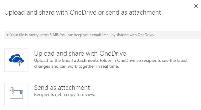 Outlook Web App OneDrive for Business just got better 6