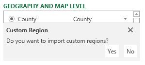 Power Map for Excel May update for Office 365 4