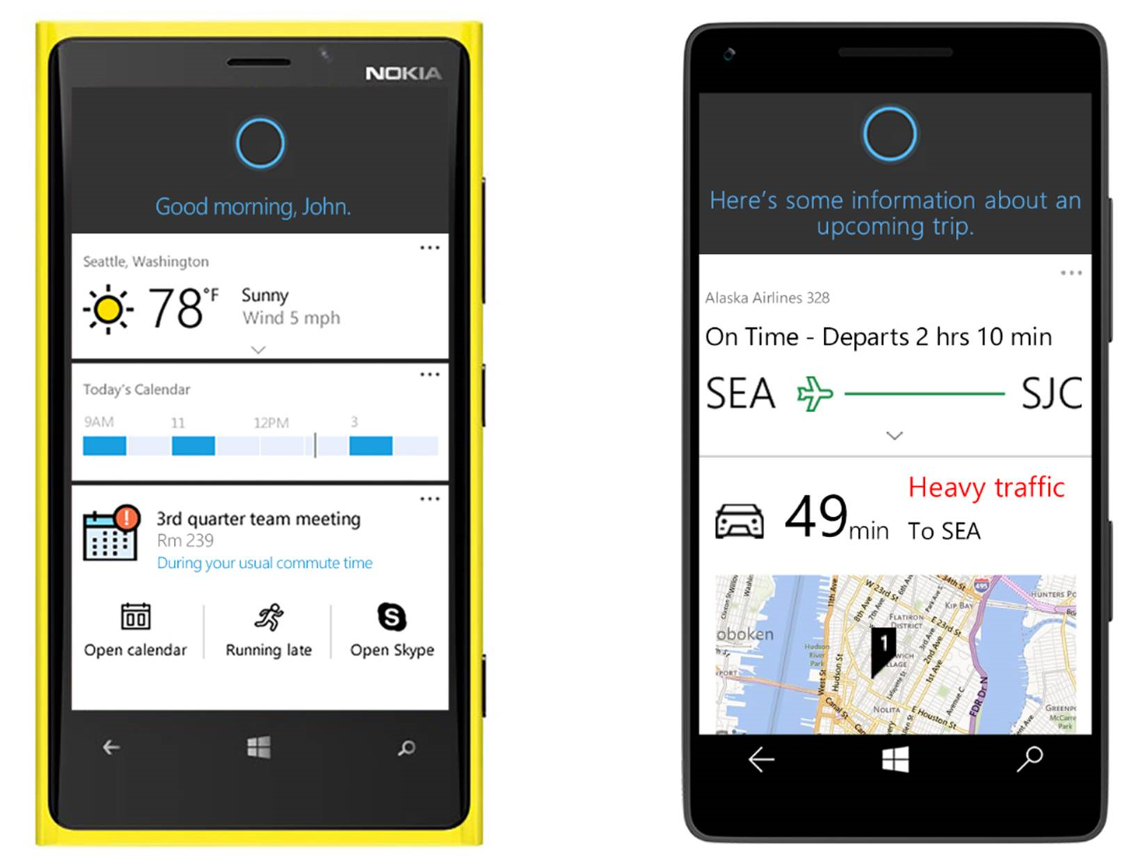 An early look at Cortana integration with Office 365 1