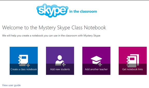 Learning adventures with the new Mystery Skype OneNote Notebook 4