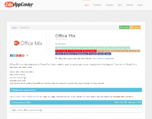 Office Mix delivers LTI support and integration with major LMS providers 3