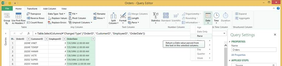 6 updates in Power Query for Excel 4