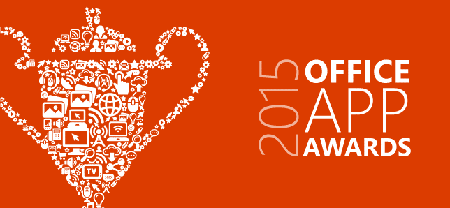 Announcing the 2015 Office App Awards winners 1