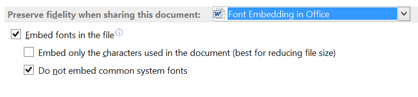 Document font embedding demystified 1