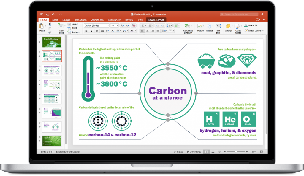 PowerPoint for Mac.