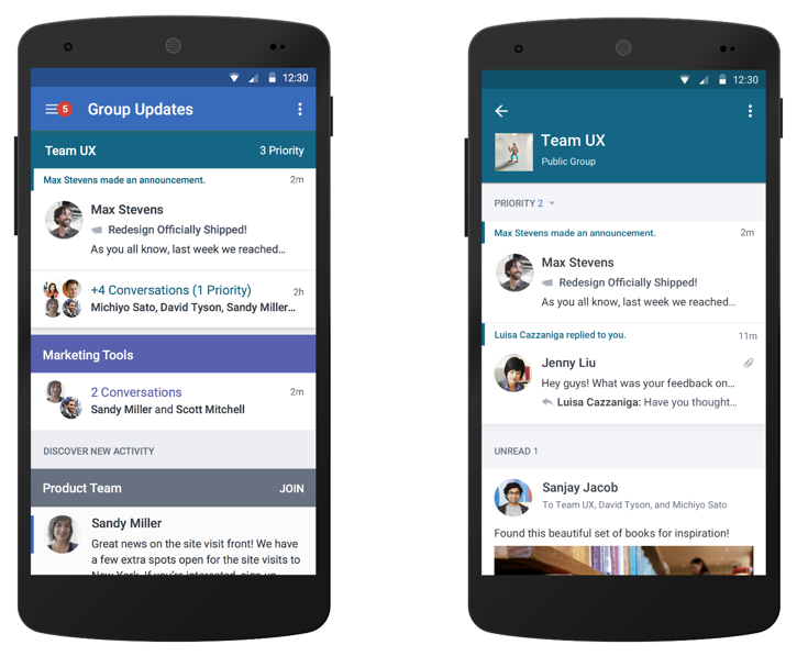 Optimizing Yammer for teams 3