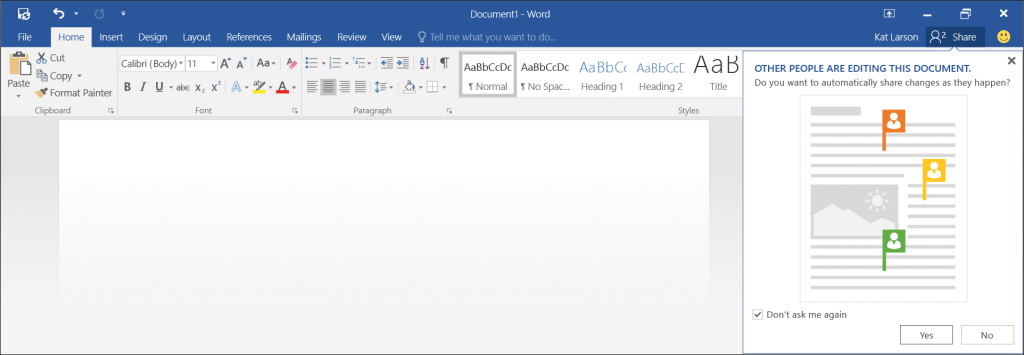 Preview real-time co-authoring on OneDrive 2 - border