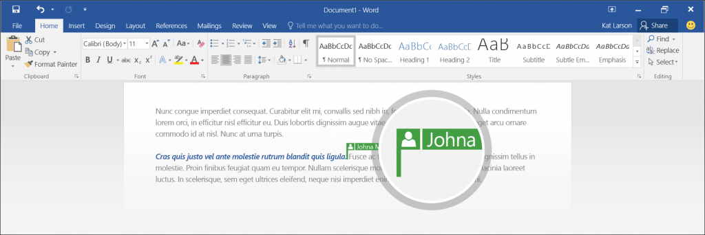 Preview real-time co-authoring on OneDrive 3 - border