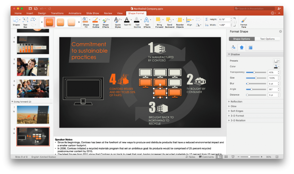 What is new in PowerPoint 2016 for Mac 2