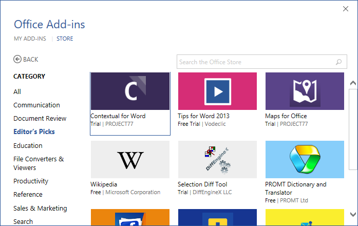New in Office 2016 for developers 7