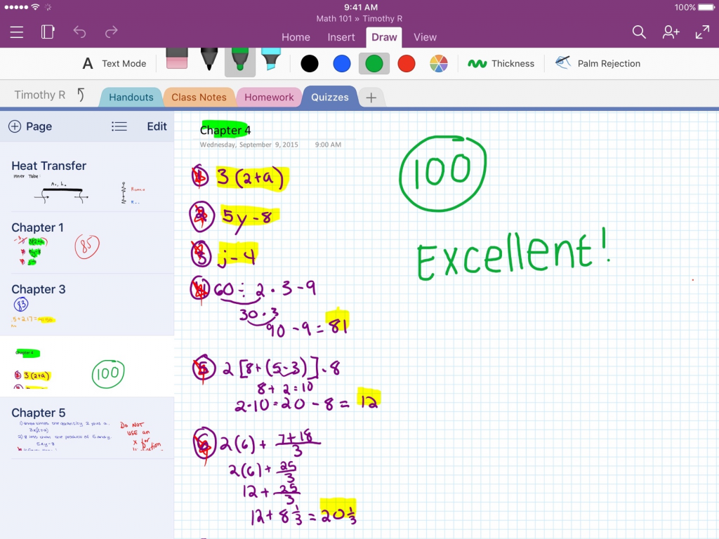 OneNote adds support for iOS 9 3