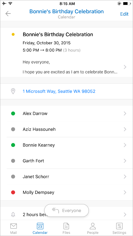 A fresh new look for Outlook for iOS and Android 4 - 2