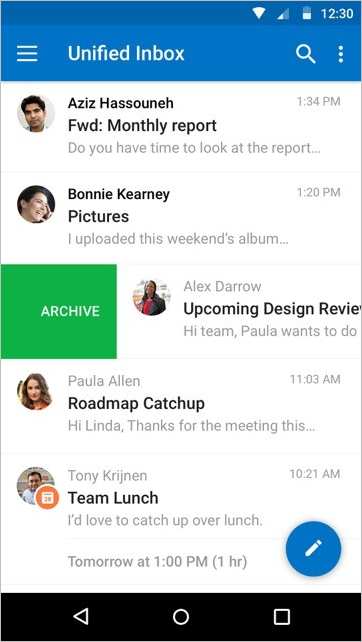 A fresh new look for Outlook for iOS and Android 5 - 2