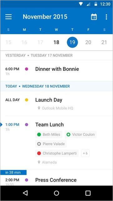 A fresh new look for Outlook for iOS and Android 6 - 2