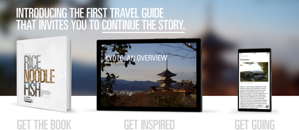 Introducing the first travel guide that invites you to continue the story 1 - 1