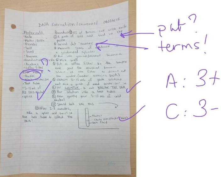OneNote triangulation of evidence 6 - 1
