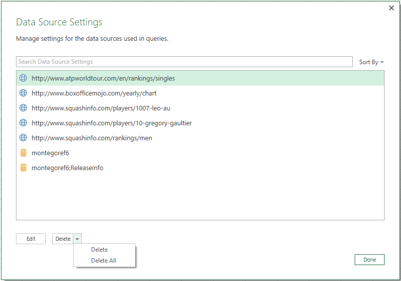Excel 2016 and Power Query Nov update 3