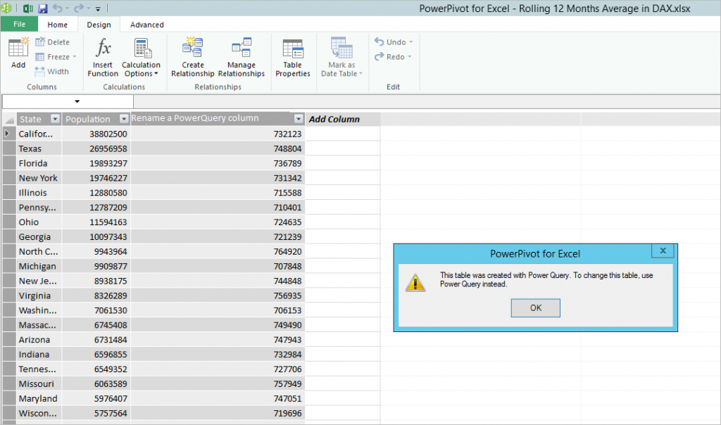 Power Pivot in Excel 2013 5 - 5