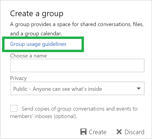 Office 365 Groups now supports 3a