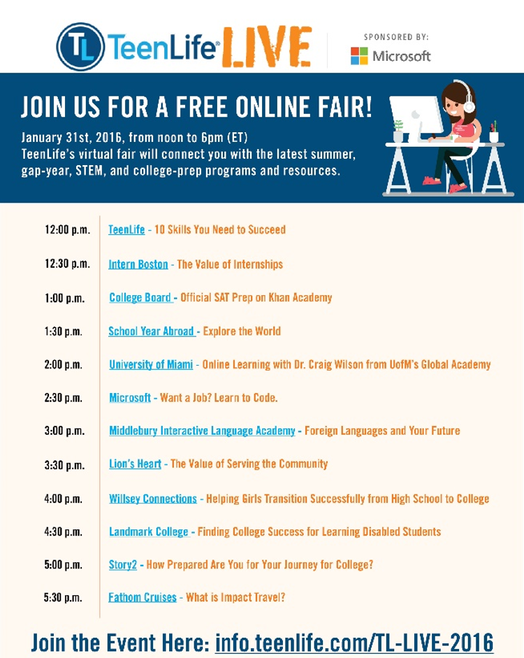 Free college prep planning resources and virtual event for students 3