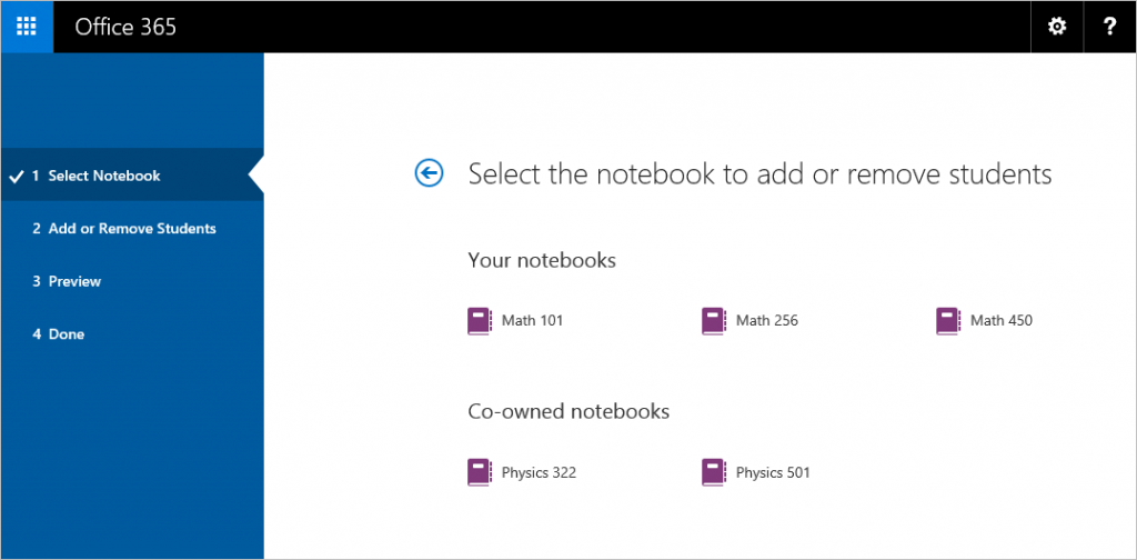 Ring in the New Year with OneNote Class and Staff Notebook updates 1a