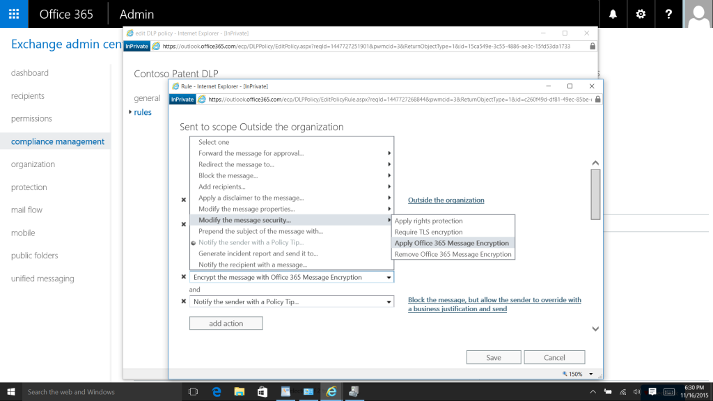 What protection exists for your data in Office 365 1