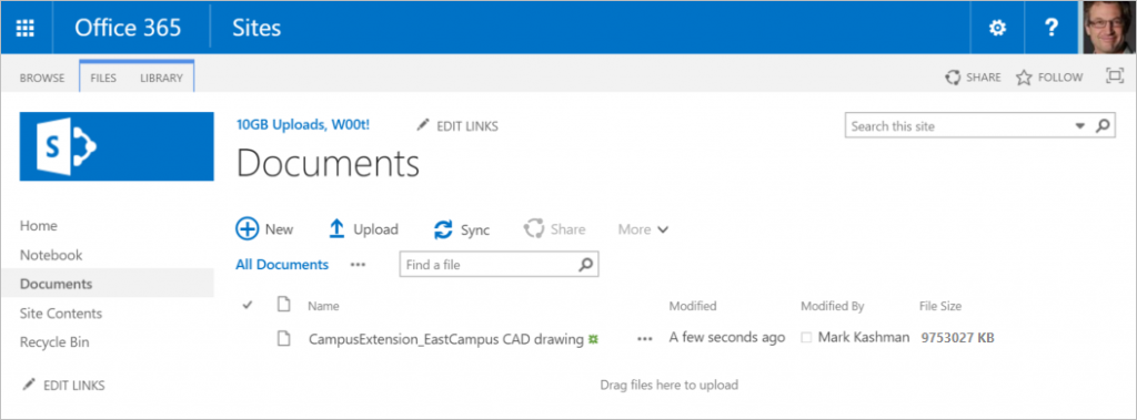 Improvements for SharePoint Online and OneDrive for Business 2b