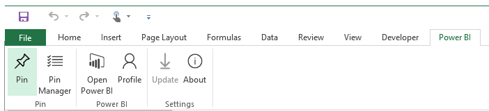 Share your Excel insights with Power BI 1